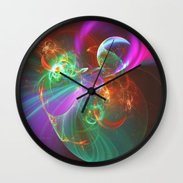 Busting Your Bubble Wall Clock