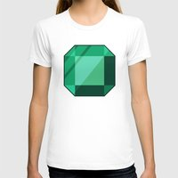 emerald T-shirts featuring Emerald by creativeesc