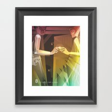 Close Encounter of the Eighth Kind - Intimacy Framed Art Print