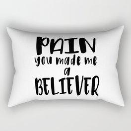 Believer Rectangular Pillow