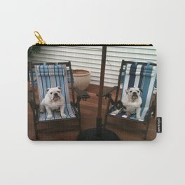Bulldogs Lounging Carry-All Pouch