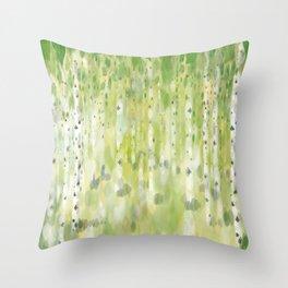 The Birch Grove Throw Pillow