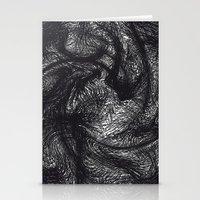furry Stationery Cards featuring furry swirl by Matthias Hennig