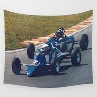 racing Wall Tapestries featuring Classic Single Seater Racing by Malcolm Snook