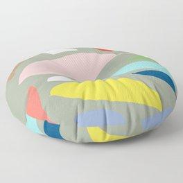Random colors Floor Pillow