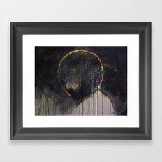 A Man Of Sorrow Framed Art Print