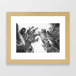 Walkin' With Jesus Framed Art Print