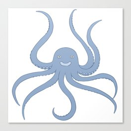 Cute octopus Canvas Print