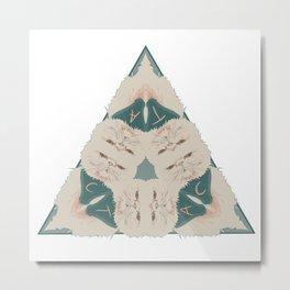 Psychedelicat Metal Print