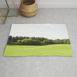 Rolling Hills - Midwest Landscape Photography Rug