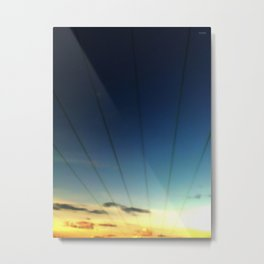 Powerline Metal Print