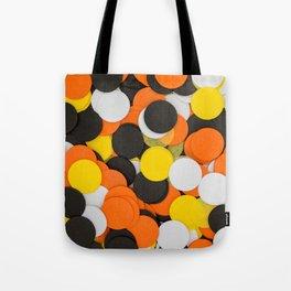 Halloween Party Confetti Tote Bag