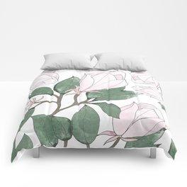 Magnolia. Comforters
