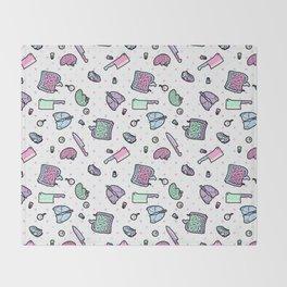Sweet Yandere (White) Throw Blanket
