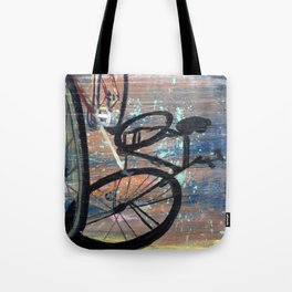 Shadow Bicycle Tote Bag