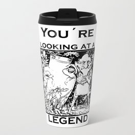 You're Looking At A Legend St Patricks Day Clurichaun Travel Mug