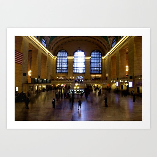 Grand Central Ghosts Art Print