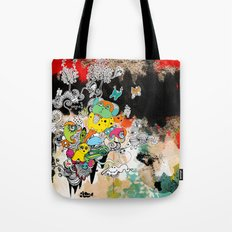 happy world Tote Bag
