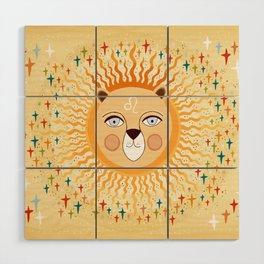 Leo Wood Wall Art