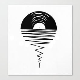 Record Sunsets Canvas Print