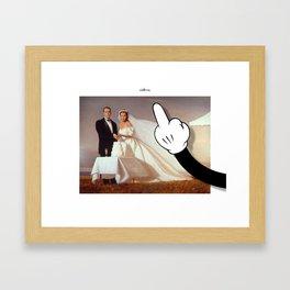 còllera wedding Framed Art Print
