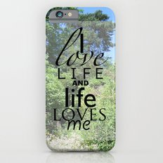 Life is just iPhone 6s Slim Case