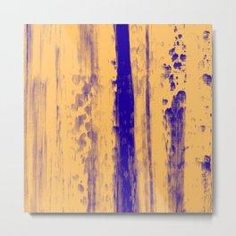 Gerhard Richter Inspired Abstract Urban Rain 4 Modern Art - Wall Decor Metal Print