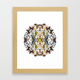 The Birds and The Bees Framed Art Print