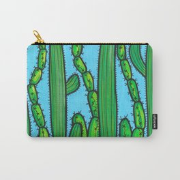 RESIST - armadillo, cactus wren, scorpion on THE WALL Carry-All Pouch