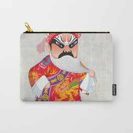 Beijing Opera Character LianPo Carry-All Pouch