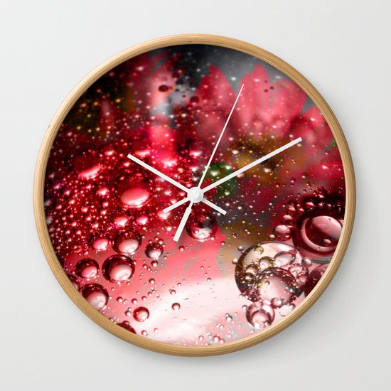 inflorescence beads Wall Clock