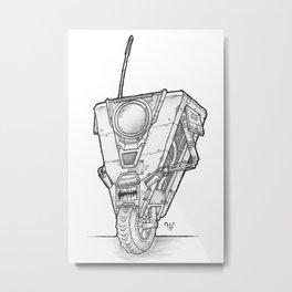 Claptrap Metal Print