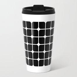 Mod Cube - Black & White Travel Mug