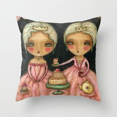 Let Her Eat Cake Throw Pillow