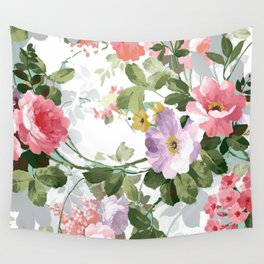 The perfect flowers for me 3 Wall Tapestry