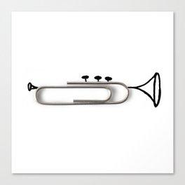 Trumpclip Canvas Print
