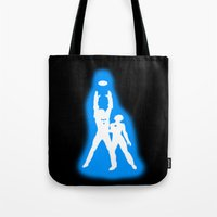 tron Tote Bags featuring Tron by KewlZidane
