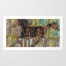 Galope Art Print