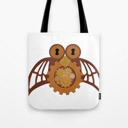 Steam Punk Owl Tote Bag