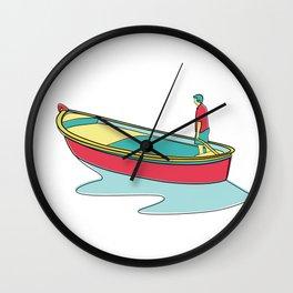 I Love Parthenopean Style Wall Clock