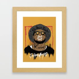 Schoolboy Q Framed Art Print