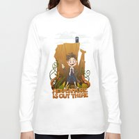 adventure is out there Long Sleeve T-shirts featuring Adventure by BlancaJP - Jonna Piltti