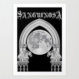 Sanguinosa - At The Gates Of The Crypt Art Print