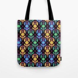 Colorful Moroccan Lanterns Pattern Tote Bag