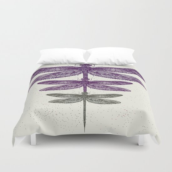 Dragonfly Duvet Cover by rskinner1122   Society6 : dragonfly quilt cover - Adamdwight.com
