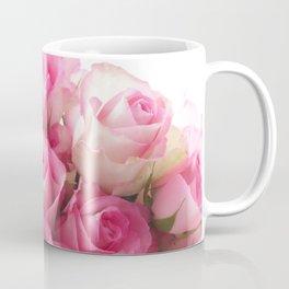 Pink Roses Bouquet Coffee Mug