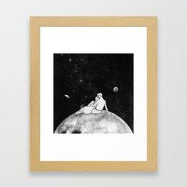 The greatest moon. Framed Art Print