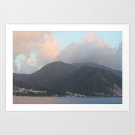 Caribbean Coast Art Print