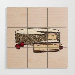 Z is for Zuger Kirschtorte Wood Wall Art