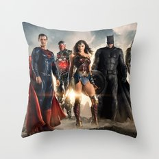 Justice League Throw Pillow